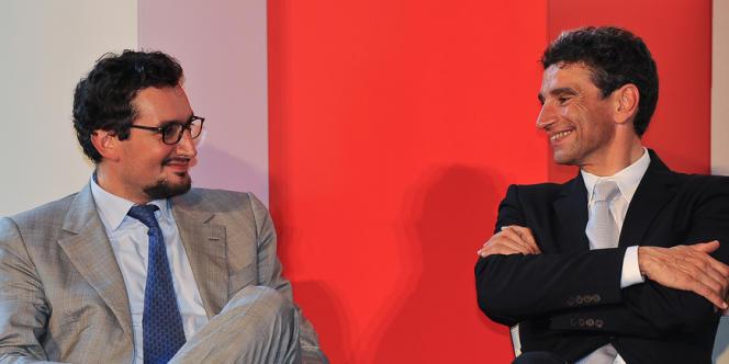 Pietro et Giovanni Ferrero ont dirigé le groupe jusqu'à la mort de Pietro (à droite), en août 2011. Ici en juillet 2010 à Rome.