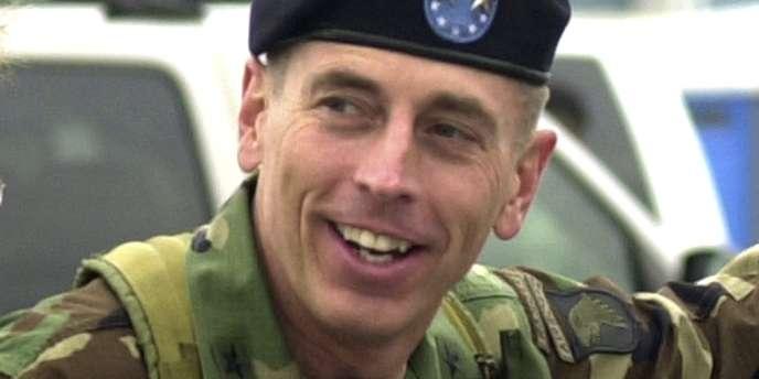David Petraeus a coordonné la force internationale en Afghanistan avant d'être nommé patron de la CIA.