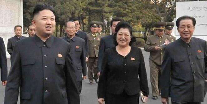 Le leader nord-coréen, Kim Jung-un, à Pyongyang, le 5 novembre 2012.