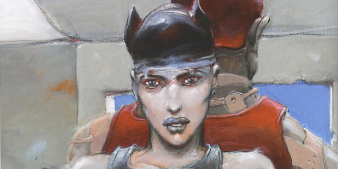 La folle du roi, 2012, Enki Bilal.
