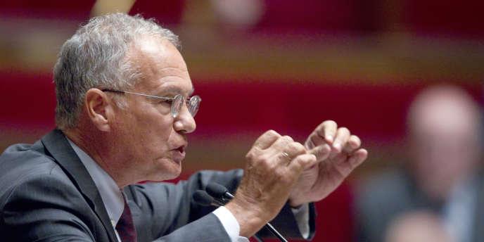 Gilles Carrez, le président (UMP) de la commission des finances de l'Assemblée nationale.