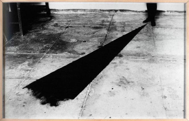 L'une des photographies de Paris Photo choisies par David Lynch : Helena Almeida,