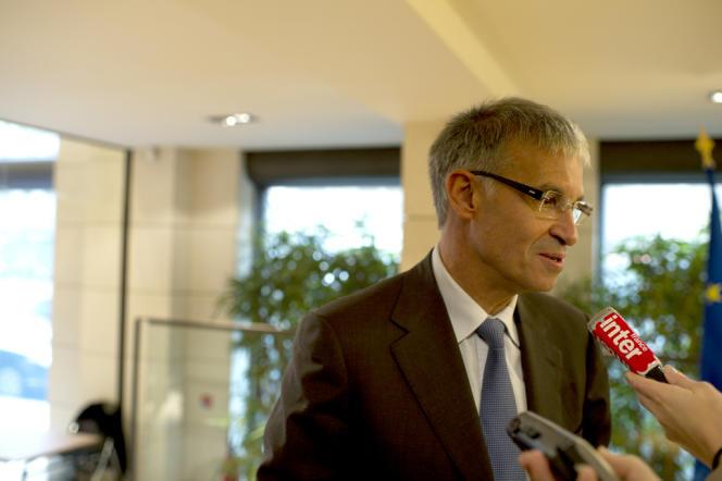 Patrick Bernasconi, chef de file de la délégation Medef pour la négociation sur l'emploi, le 15 novembre 2012.