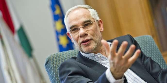 Zoltan Balog, le ministre des ressources humaines du gouvernement de Viktor Orban, le