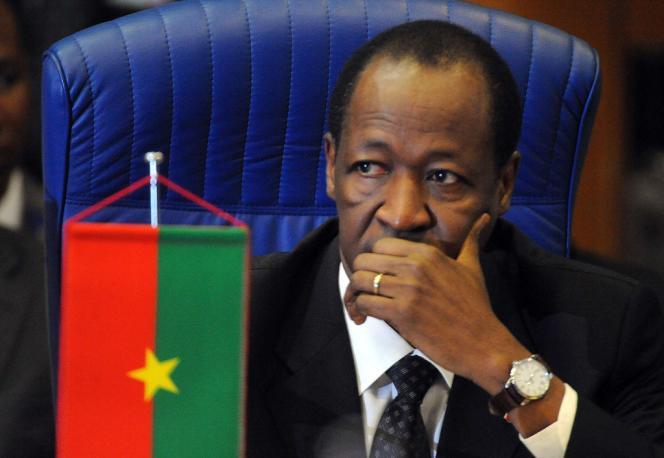 Le président burkinabé, Blaise Compaoré, en novembre 2012 à Abuja.