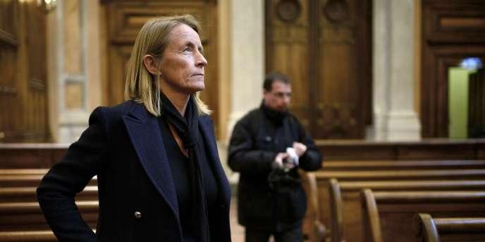 Isabelle Demongeot, le 15 novembre au palais de justice de Lyon.