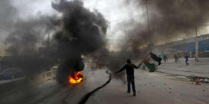 Affrontements entre Palestiniens et forces israéliennes vendredi 16 novembre.