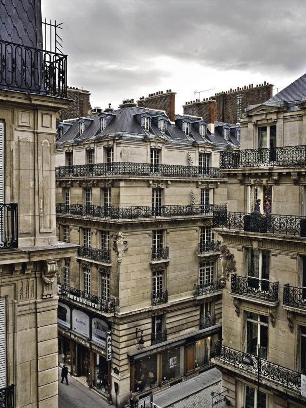 30 octobre 2012, rue Auber, Paris 9e.