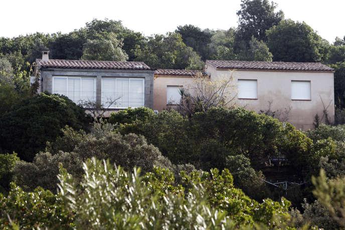 C'est dans cette maison qu'Andy F. a tué ses parents et ses frères en 2009. Il avait été jugé irresponsable par la cour d'assises d'Ajaccio en novembre 2012.
