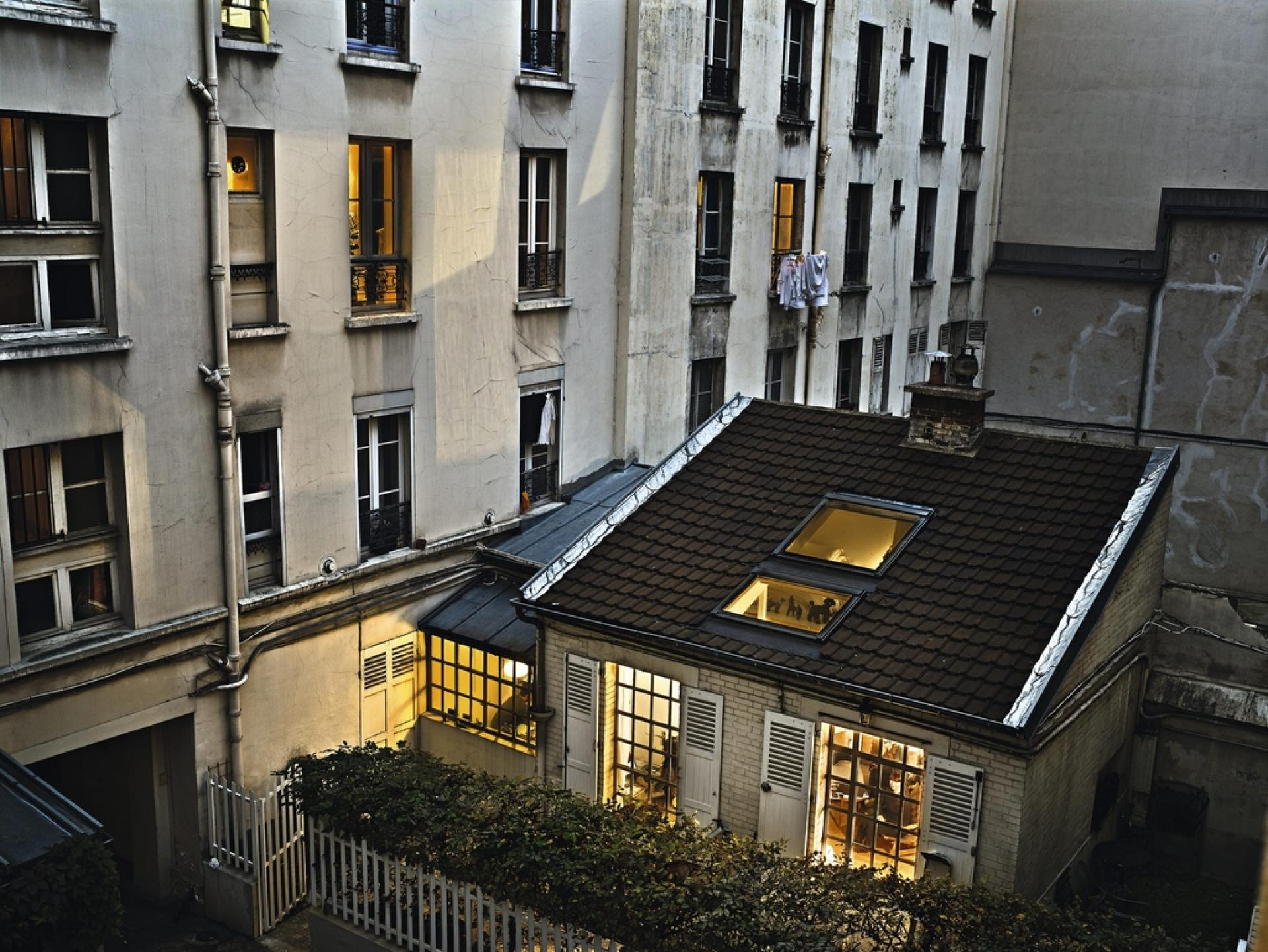 30 octobre 2012, rue de l'Ourcq, Paris 19e.