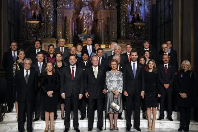 Le dernier sommet ibéro-américain s'est tenu à Cadix, en Espagne, le 16 novembre 2012.