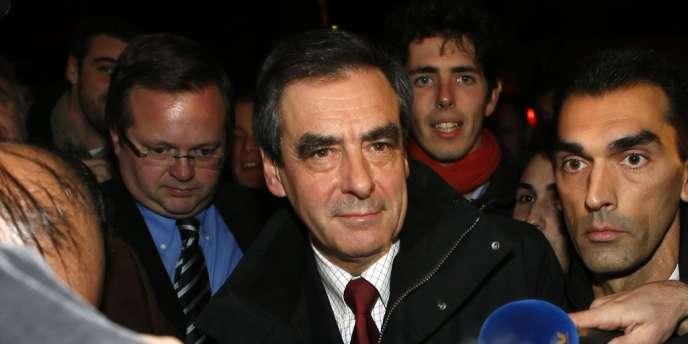 François Fillon le 18 novembre au soir.