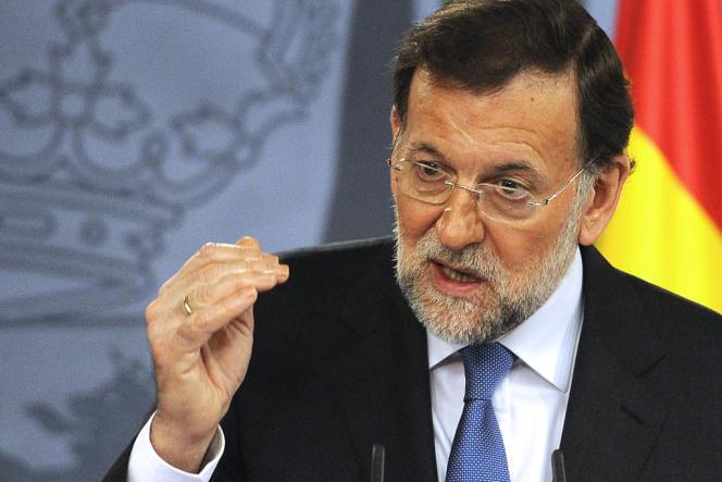 Mariano Rajoy, premier ministre, à Madrid le 19 novembre 2012.