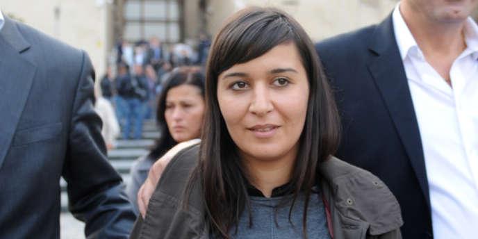 Sevim Sevimli quitte le tribunal de Bursa, le 19 novembre 2012.