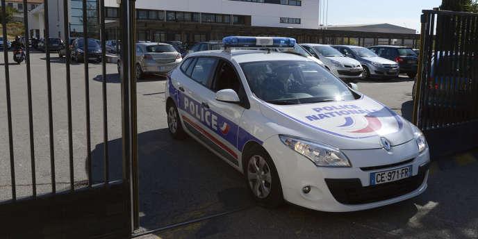 La Brigade anti-criminalité nord de Marseille, le 2 octobre 2012.