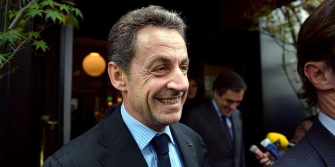 Nicolas Sarkozy le 24 octobre 2012 à Paris.