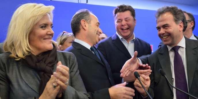 Jean-François Copé a officiellement remporté lundi soir la présidence de l'UMP.