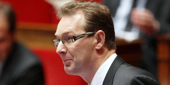 Le député de Haute-Savoie Lionel Tardy à l'Assemblée nationale, en décembre 2011.