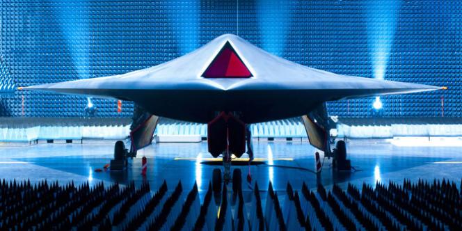 Le prototype d'avion de combat Taranis.