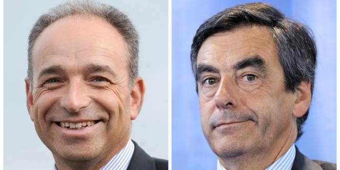 Jean-Francois Copé et Francois Fillon.