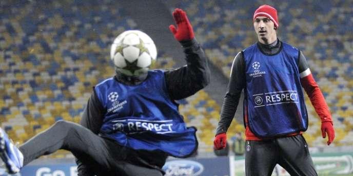 Les Parisiens retrouvent Zlatan à Kiev.