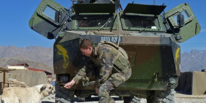 Sur la base de Nijrab, en Kapisa, le 20 novembre.