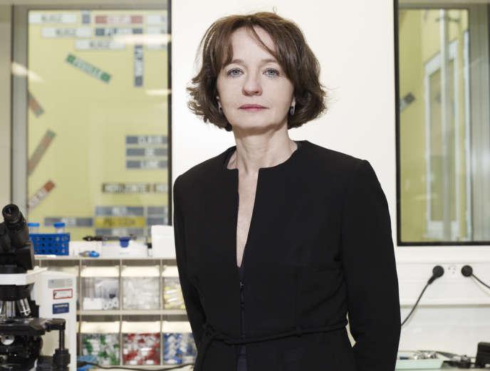 Marina Cavazzana-Calvo, lauréate du prix Irène-Joliot-Curie 2012.