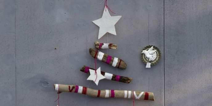 Création de Noël... recyclée