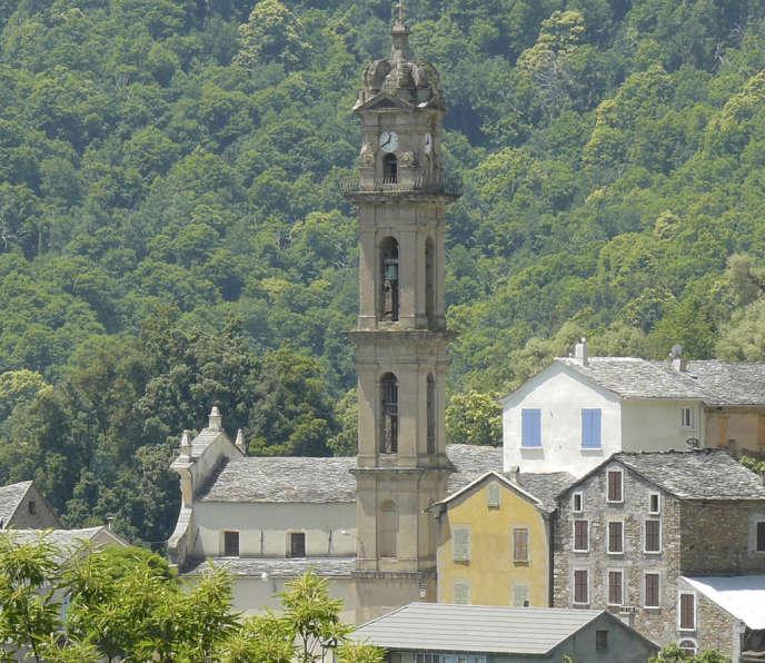 Le clocher de Verdèse en Haute-Corse.