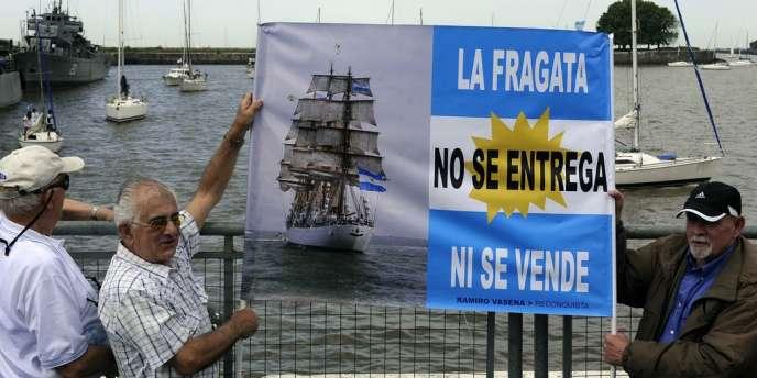 La frégate Libertad a été saisie au Ghana par un fonds spéculatif réclamant à l'Argentine le remboursement de ses créances.