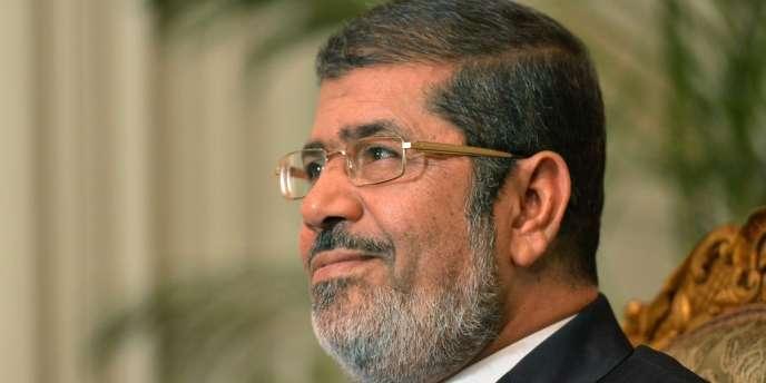 M. Morsi, issu des Frères musulmans et élu en juin 2012.