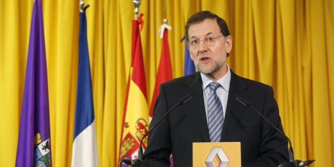 Le premier ministre espagnol Mariano Rajoy s'est félicité, mercredi 21 novembre, de la décision de Renault  d'augmenter la production  dans ses usines de Palencia, Valladolid et Séville.