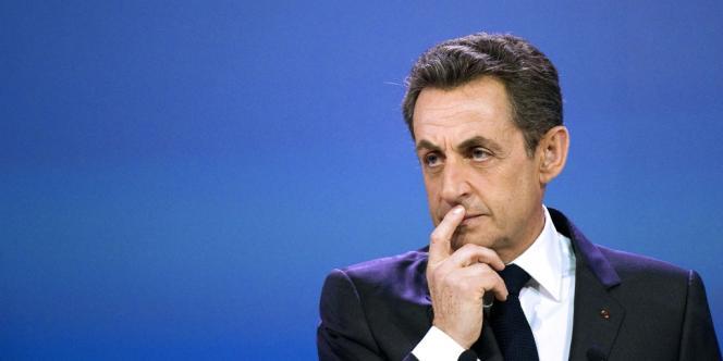 Nicolas Sarkozy lors de la dernière campagne présidentielle, à Paris, le 3 mars.
