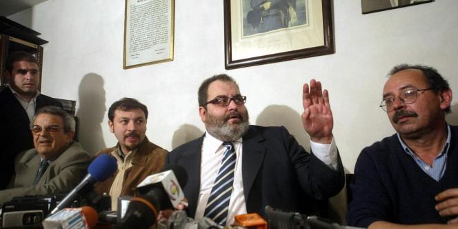 Jorge Lanata, le journaliste qui dérange le pouvoir argentin. Ici en mai 2005 à Montevideo (Uruguay)