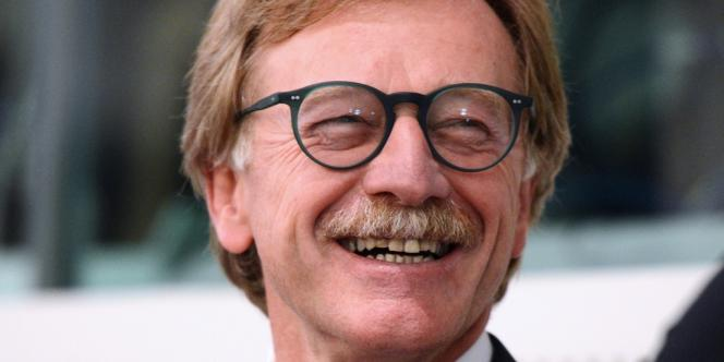 Le Luxembourgeois Yves Mersch à Strasbourg en octobre.