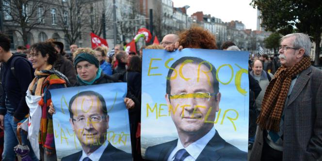 Manifestation à Nantes contre l'aéroport Notre-Dame-des-Landes, le 24 novembre.