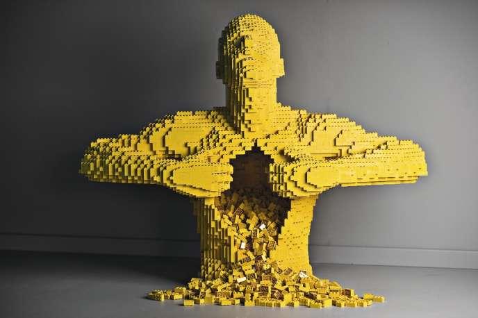 L'artiste Nathan Sawaya n'utilise que des briques pour ses sculptures.