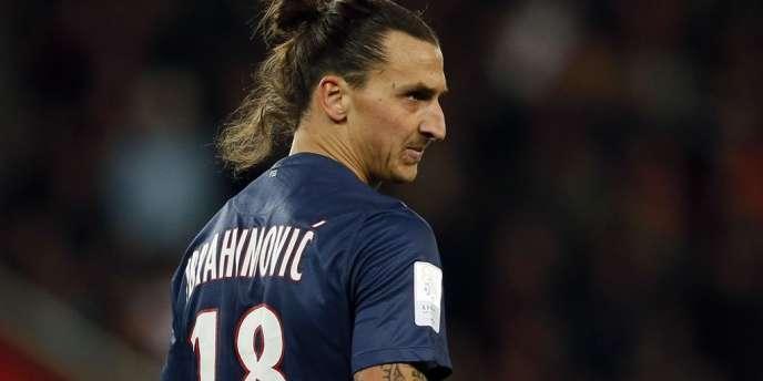Zlatan Ibrahimovic, star du PSG et meilleur buteur de Ligue 1 après dix-huit journées de championnat .
