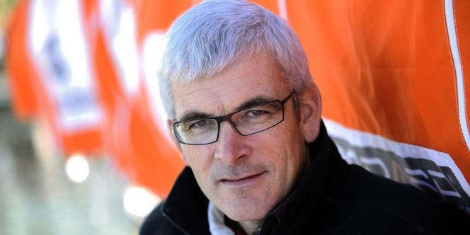 Vincent Riou, le 7 novembre aux Sables d'Olonnes, peu avant le départ de la course du Vendée-Globe 2012-2013.