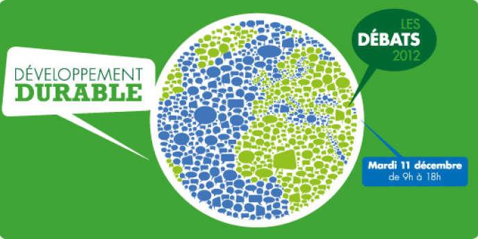Colloque Développement durable, mardi 11 décembre, de 9 heures à 18 heures, dans l'auditorium du Monde.