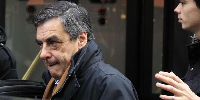 François Fillon, le 22 novembre à Paris.