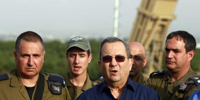 Ehoud Barak, le 18 novembre, à proximité de Tel-Aviv.