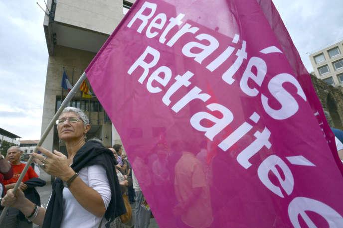 Lors d'une manifestation à Marseille, le 11 octobre