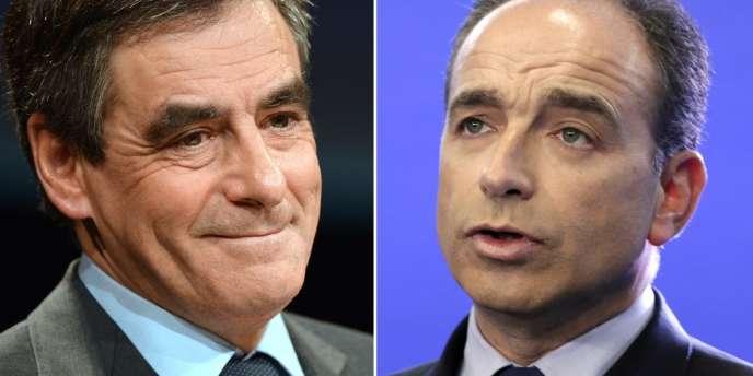 Photomontage : François Fillon (G) et Jean-François Copé (D)