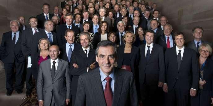 Le 25 septembre 2012, François Fillon réunissait au Sénat les parlementaires soutenant sa candidature à la tête de l'UMP.