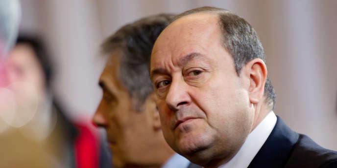 Bernard Squarcini, le 17 janvier 2012 à Paris, lors d'une conférence de presse.