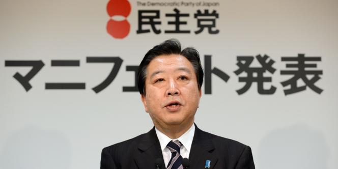 Le Premier ministre japonais Yoshihido Noda, le 27 novembre 2012.