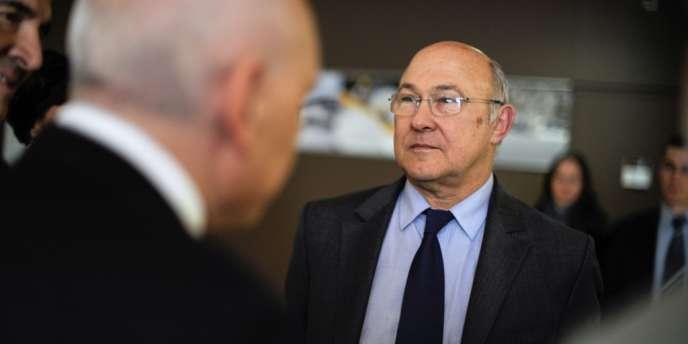 Michel Sapin, le ministre du travail et de l'emploi, mercredi 12 décembre.