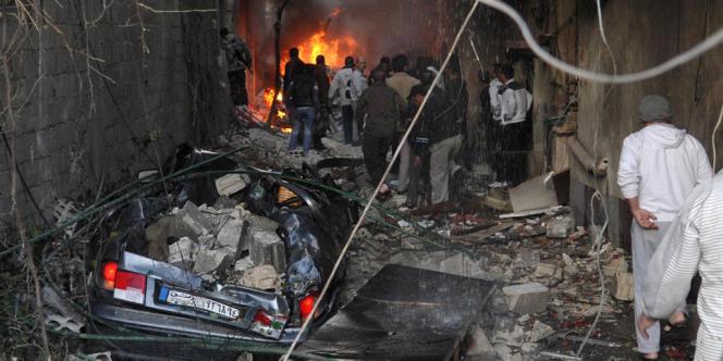 Jaramana, dans la banlieue de Damas, mercredi 28 novembre.