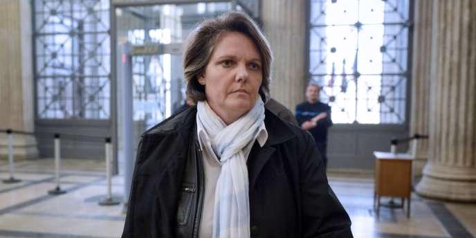 Nathalie Tauziat, à la cour d'assises de Lyon, le 20 novembre.